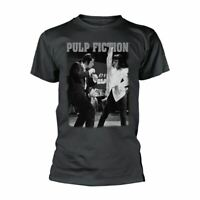 Men's Pulp Fiction Dancing Crew Neck T-Shirt - Retro Movies Tee