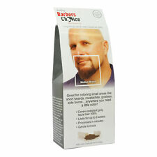 GODEFROY Barbers Choice Beard & Mustache Color Application Kit - Medium Brown