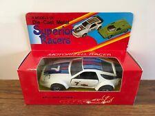VINTAGE SUPERIOR RACERS, PORSCHE 928 PULL BACK MOTORIZED RACER