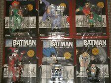 BATMAN THE ANIMATED SERIES FIGURINE COLLECTION DC Comics Eaglemoss Super Heroes