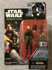 """SERGEANT JYN ERSO IMPERIAL GROUND CREW DISGUISE Star Wars Rogue One 3.75"""""""