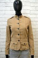 RALPH LAUREN Donna Taglia S Giacca Cappotto Slim Blazer Jacket Women Casual