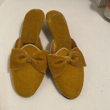 vintage Daniel green comfy slippers
