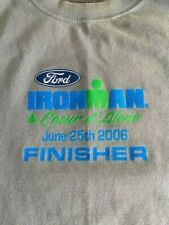 Ironman Coeur d'Alene 2006 Triathlon Finisher T-Shirt - Men's Large