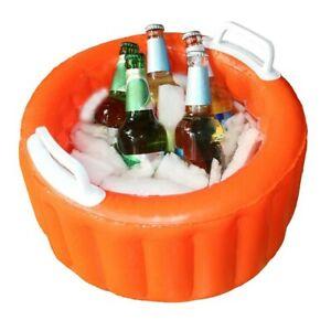 beer cooler bucket Inflatable floating ice bucket summer pool party swiming pool
