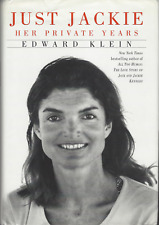 Just Jackie: Her Private Years Hardcover 1998 Edward Klein Book 1st Edition GOOD