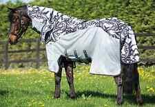 Amigo Fliegendecke 3 in 1 Vamoose, Horseware Three-in-One Vamoose, Silver-Black