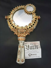 Alchemy Lady Talbot's Retrospector Hand Mirror - Steampunk, gothic, the Vault