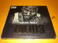 YOUNG JEEZY TM 103 Hustlerz Ambition CD + DVD Future 2 Chainz Andre 3000 Trick D