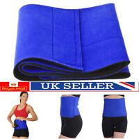 Belly Burner Fat Waist Cellulite Weight Loss Stomach Slimming Belt Sauna Body UK