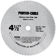 Circular Saw Blade 4-1/2 in. 120 Tooth Plywood Cutting Power Tool Accessories US