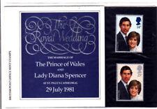 GB 1981 Royal Wedding Presentation Pack VGC. Stamps. Charles and Diana