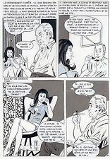 LA LOUVE A PARIS  (RENAUD) PLANCHE ORIGINALE AREDIT PAGE 88