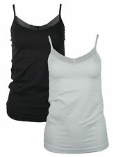Vero Moda VMAMELIA seamless singlet TOP Trägertop Shirt Unterhemd