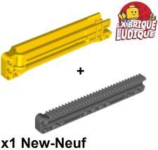 Lego technic 1x gear rack grue treuil crémaillère 1x14x2 18940 + 18942 NEUF