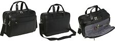Samsonite Leather Messenger Briefcase Laptop Case Bag Checkpoint Friendly