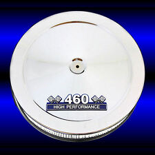 Chrome Air Cleaner 460 High Performance Emblem for Ford 460 Big Block Engines