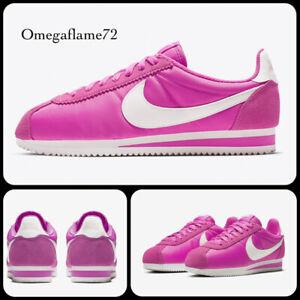 Nike Classic Cortez Nylon, Sz UK 8.5, EU 43, US 11, 749864-609, Vivid Pink