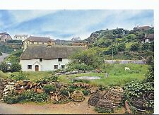 Devon Postcard - The Fishermen's Cottages of Inner Hope   A4468