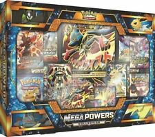 MEGA POWERS Collection Box POKEMON TCG Cards Sealed Packs and Full Art Promos