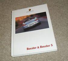 Porsche Boxster Hardback Brochure 986 2.7 & 3.2 S 2000-2001