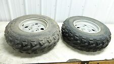 04 Arctic Cat 650 V-2 4x4 FIS atv front wheels rims and tires right left