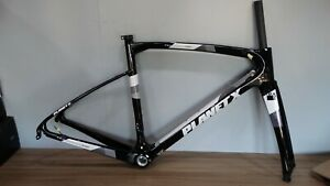 NEW PLANET X CARBON EVO PRO BLACK CARBON FRAME and FORKS  SMALL SIZE