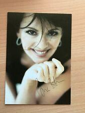 Autogrammkarte - IRIS BERBEN - SCHAUSPIELERIN - orig. signiert #456
