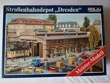 Pola Nr. 675 Straßenbahndepot Dresden Bausatz im Maßstab 1:87 H0