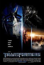 Transformers movie film métal signe publicité plaque murale