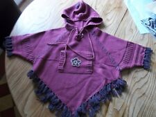 poncho fille 2-3 ans