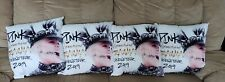 ( 4 ) PINK Beautiful Trauma World Tour 2019 14x14 soft plush PILLOWS