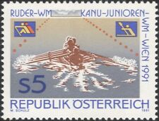 Austria 1991 Rowing/Canoeing/Championships/Sports/Boats/Canoes 1v (at1131a)