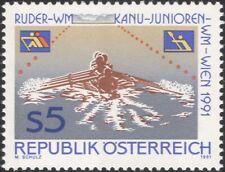 Austria 1991 CANOTTAGGIO/Campionati di canoa// Sport/Barche/Canoe 1 V (at1131a)