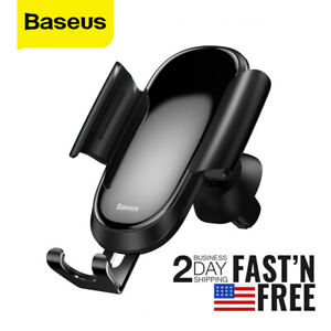 Baseus Future Gravity Car Phone Holder For Round Air Outlet In Air Vent Mount