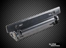 JDM Carbon Fibre Style Front Adjustable Tilt Licence Plate Bracket Universal*OOS