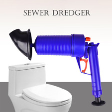 Pipe Pneumatic Sewer Dredging Device Toilet Dredger Sink Plunger Opener Cleaner