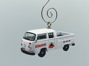 1972 Volkswagen Double-Cab Pick Up Truck Custom Christmas Ornament 1/64 Scale