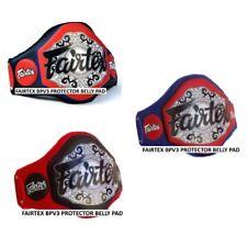 FAIRTEX BPV3 EXTRA PADDING LIGHTWEIGHT BELLY PADS MMA MUAY THAI PAD PROTECTOR