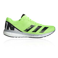 adidas Mens Adizero Boston 8 Running Shoes Trainers Sneakers - Green Sports