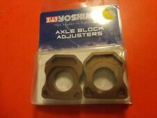 NEW HONDA 2007-2012 CBR600 2008-12 CBR1000 AXLE BLOCK KIT R-KABF-K YOSHIMURA