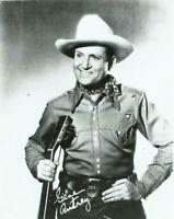 Gene Autrey Singing Cowboy Western Actor Movie Star Singer 1950s Promo Photo