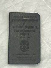 Vintage International Brotherhood Of Teamsters 1948-52 R(697)