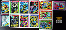 Marvel Comics Trading Cards Series 1 1990 Vintage RARE 12 pcs.