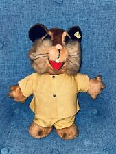 "12"" STEIFF Hamster Bank Mascot Made In Germany Toy Stuffed Animal Vintage"