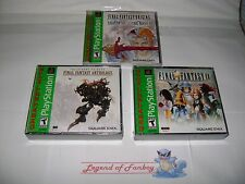 NEW * Final Fantasy: Origins I II + Anthology V VI + IX - PlayStation 1 ps1 lot