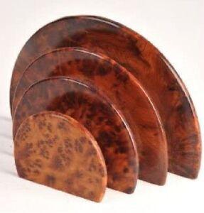 Handmade Thuya Wood Letter Rack - Letter Holder - Desk Tidy - Home decor - Gift