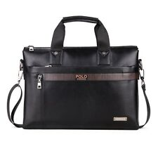 VICUNA POLO Business Man Briefcase Dot Design Mens Handbags Shoulder Bags