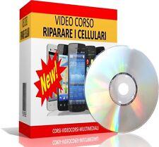 VIDEO CORSO RIPARARE I CELLULARI SMARTPHONE E TABLET + CORSO DI ELETTRONICA