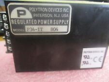 Polytron Devices Model: P34-1T Regulated Power Supply  <